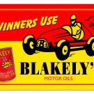 BLAKELY'S MOTOR OILS TIN SIGN 24 GAUGE
