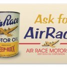 AIRRACE MOTOR OIL TIN SIGN 24 GAUGE