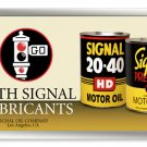 SIGNAL MOTOR OIL METAL SIGN 24 GAUGE