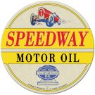 SPEEDWAY OIL METAL SIGN 24 GAUGE