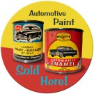 AUTOMOTIVE PAINT SOLD HERE METAL SIGN 24 GAUGE