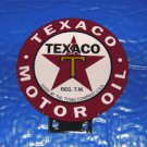 TEXACO LUBESTER DOUBLE SIDED SIGN