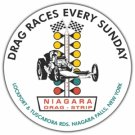 NIAGARA DRAG-STRIP HEAVY STEEL SIGN