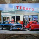 TEXACO SKYCHIEF RETRO HEAVY STEEL SIGN