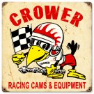 CROWER RACING CAMS EQUIPMENT HEAVY METAL SIGN