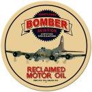 BOMBER RECLAIMED MOTOR OIL HEAVY METAL SIGN