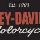 HARLEY DAVIDSON MOTORCYCLES PORCELAIN COATED SIGN