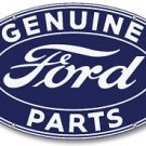 FORD GENUINE PARTS OVAL SIGN