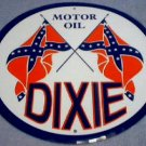 DIXIE MOTOR OIL TIN SIGN