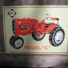 ALLIS CHALMERS MODEL C TIN SIGN