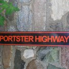 SPORTSTER HIGHWAY TIN SIGN