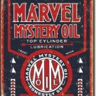 MARVEL MYSTERY OIL TIN SIGN