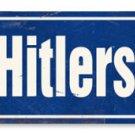 ADOLF HITLERSTRASSE HEAVY METAL SIGN