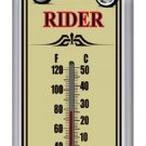 FREEDOM RIDER THERMOMETER HEAVY METAL SIGN