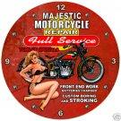 MAJESTIC MOTORCYCLES CLOCK SHOP GARAGE AUTO