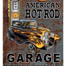 AMERICAN HOT ROD SHELL HEAVY METAL SIGN OLD LOOK