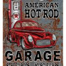 American Hot Rod Texaco HEAVY METAL SIGN