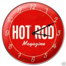 HOT ROD MAGAZINE HEAVY METAL CLOCK