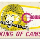 CROWER KING OF CAMS HEAVY METAL SIGN