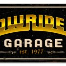 Lowrider Garage est.1977 Heavy Metal Sign