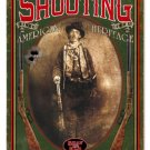 Men's Shooting Club Billy the Kid HEAVY METAL SIGN