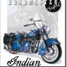 INDIAN EIGHTY ROADMASTER TIN SIGN