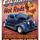 Kustom Hot Rods heavy metal sign PIN UP GIRL
