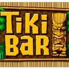 Tiki Bar heavy metal sign Colorful