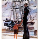 UNITED STATES NAVY Heritage heavy metal sign