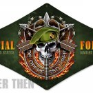 SPECIAL FORCES diamond shape Metal Sign