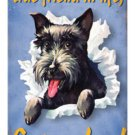 Get a Dog true friend HEAVY METAL SIGN