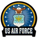 USAF insignia HEAVY METAL SIGN