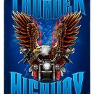THUNDER HIGHWAY Heavy Metal Sign