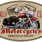 World Class Motorcycles HEAVY METAL SIGN