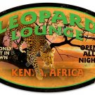 Leopard Lounge HEAVY METAL SIGN