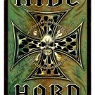 Ride Hard HEAVY METAL SIGN