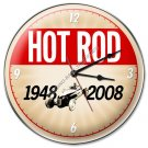 60TH ANNIVERSARY HOT ROD CLOCK