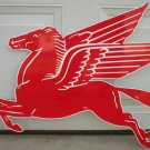 LARGE MOBILGAS PEGASUS FACING LEFT GAS STATION SIGN