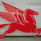 LARGE MOBILGAS PEGASUS FACING RIGHT GAS STATION SIGN