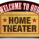 HOME THEATER HEAVY METAL SIGN