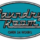 LAUNDRY ROOM HEAVY METAL SIGN
