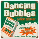DANCING BUBBLES HEAVY METAL SIGN