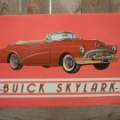 BUICK SKYLARK CONVERTIBLE TIN SIGN
