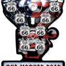 MOTHER ROAD V TWIN Heavy Metal Sign