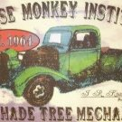 GREASE MONKEY INSTITUTE TIN SIGN METAL POSTER SIGNS G