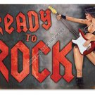 Ready To Rock HEAVY METAL SIGN