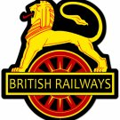 British Railways Custom Metal Sign