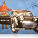 AUSTIN HEALEY SPRITE HEAVY METAL SIGN