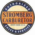 STROMBERG CARBURETERS LARGE METAL SIGN
