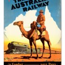 Travel Australia METAL SIGN